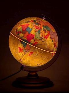 25 cm átmérőjű átvilágított antik