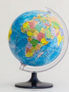 25 cm political globe